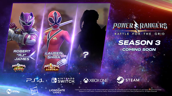 Power Rangers: Battle for the Grid Season 3 announced; Hints at a Fan Favorite Joining