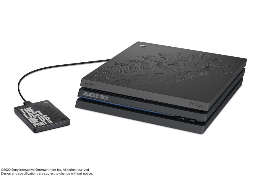 The Last of Us Part II Limited Edition PS4 Pro announced