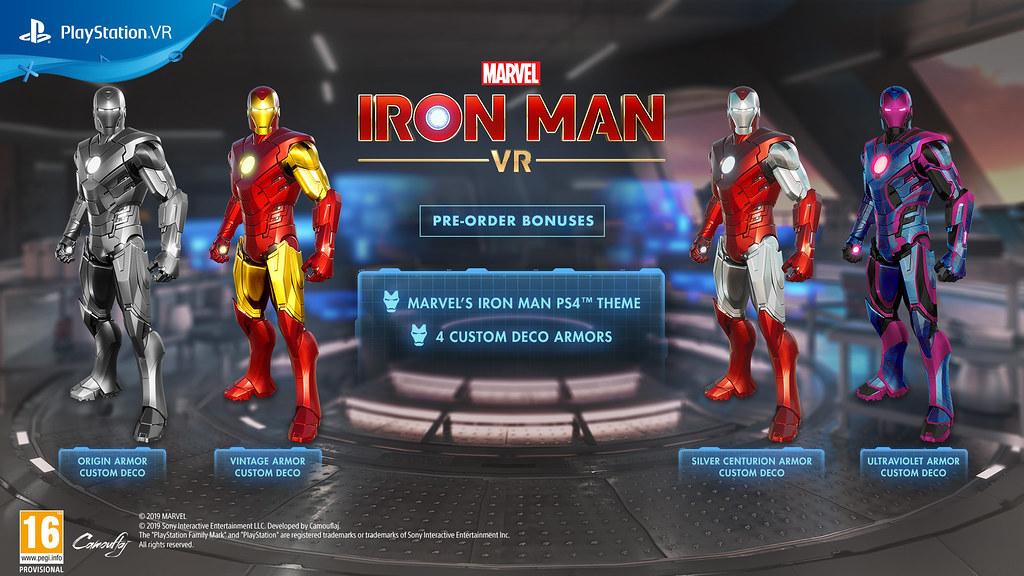 Iron Man VR bundle bonus