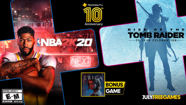 July 2020 PlayStation Plus Games Revealed