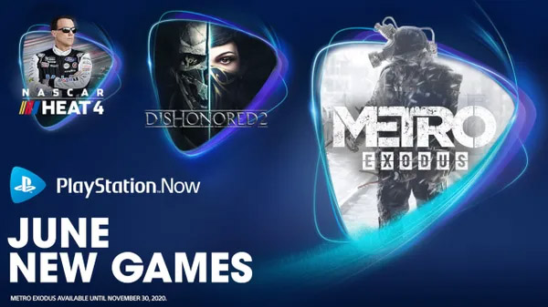 PlayStation Now June 2020 games free games officially announced
