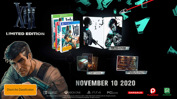 XIII remake gets a release date