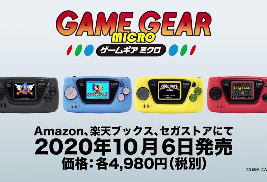 Sega To Release A Really Small Game Gear Micro Console