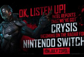 Crysis Remastered for Switch coming July 23