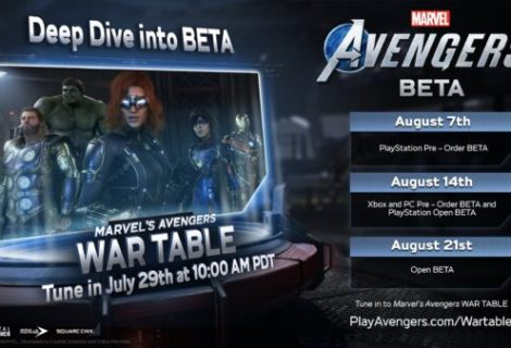 Marvel's Avengers pre-order and open betas set for next month