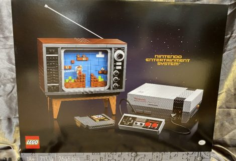 Lego Set To Release NES Console And TV Kit Display