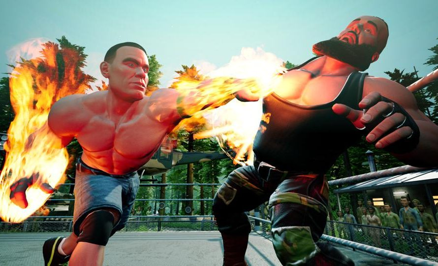 New Game Modes Have Been Revealed For WWE 2K Battlegrounds