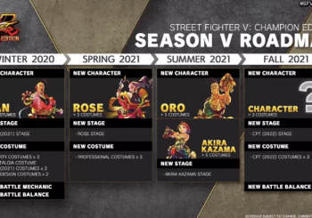 Street Fighter V Season 5 DLC Roadmap Revealed