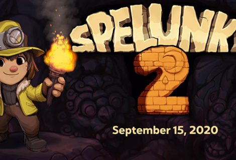 Spelunky 2 Releases September 15 on PS4 and PC Shortly After