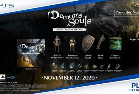Demon's Souls remake getting Digital Deluxe Edition