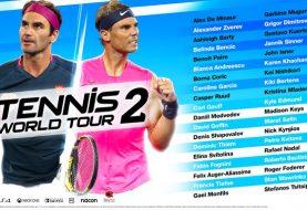 Full Launch Roster Revealed For Tennis World Tour 2
