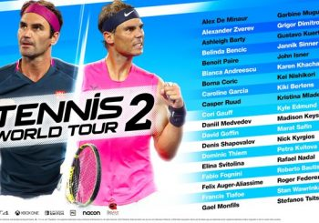 Full Launch Roster Revealed For Tennis World Tour 2