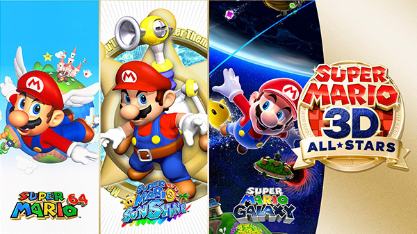 Super Mario 3D All-Stars announced for Nintendo Switch