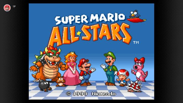 Super Mario All-Stars now available on SNES-Nintendo Switch Online