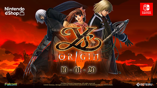 Ys Origin coming to Switch this October
