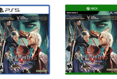 Devil May Cry 5 Special Edition physical version gets a release date