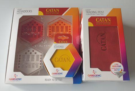 Gamegenic Catan Range Review - Trading Post, Hexadocks & Hexatower
