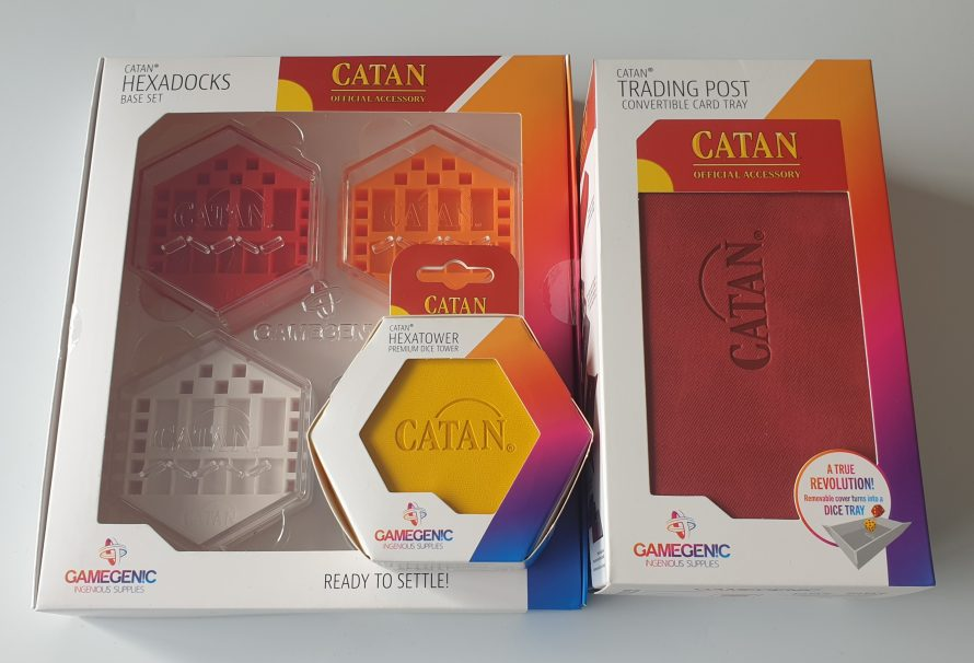Gamegenic Catan Range Review – Trading Post, Hexadocks & Hexatower