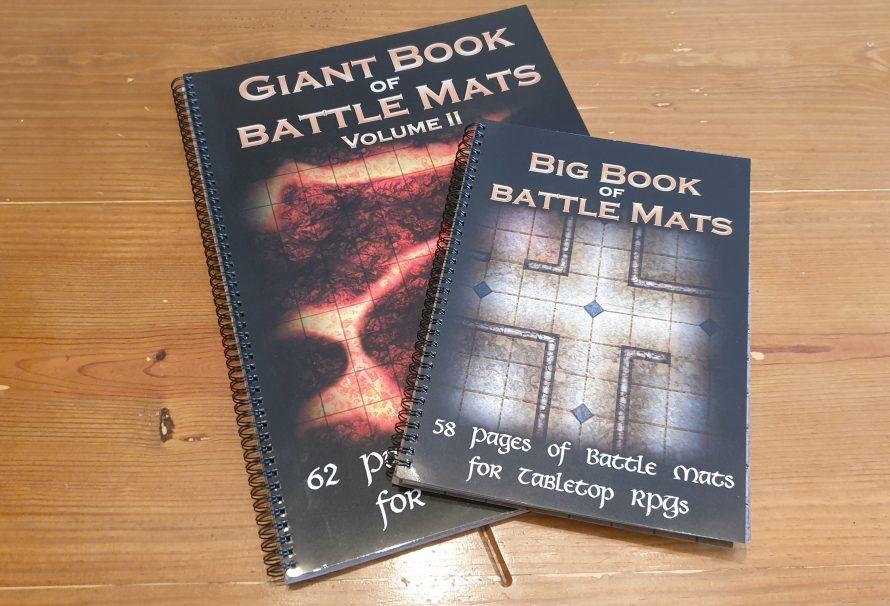 Loke BattleMats Review – The Big Book of Battle Mats Vol. 1 and Giant Book of Battle Mats Vol. 2