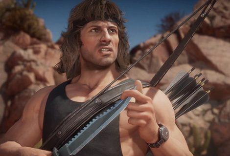Mortal Kombat 11 Rambo DLC character trailer released
