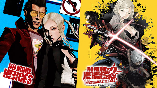 No More Heroes and No More Heroes 2: Desperate Struggle available now for Switch