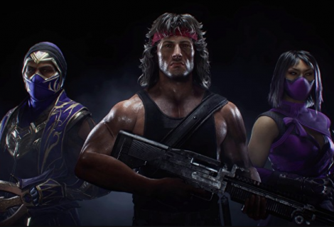 Rambo Shooting His Way Into Mortal Kombat 11