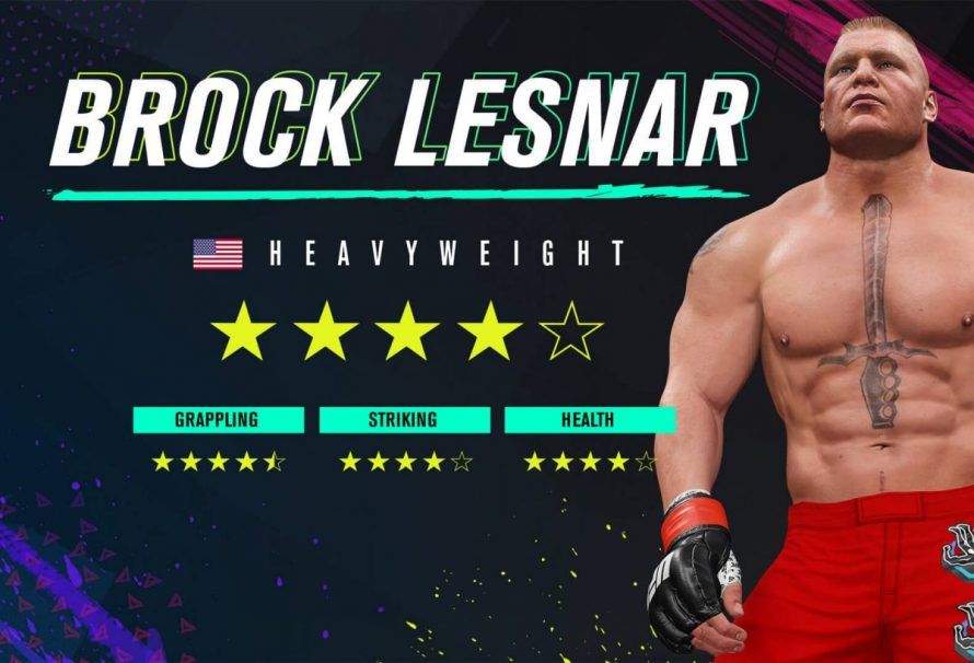 Brock Lesnar Has Been Added To EA Sports UFC 4
