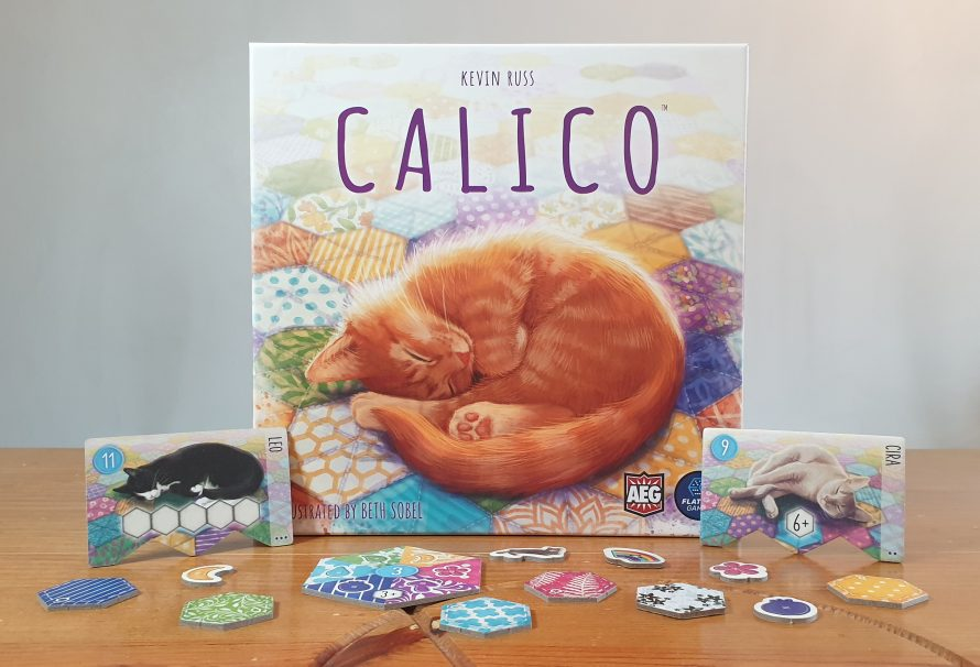 Calico Review – Cats, Quilts & Patterns