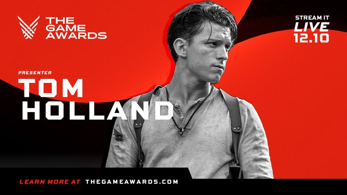 Tom Holland To Be A Presenter At The Game Awards 2020