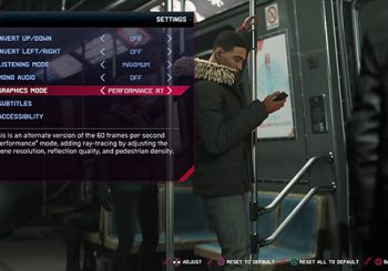 Marvel's Spider-Man: Miles Morales gets Performance RT mode on PS5