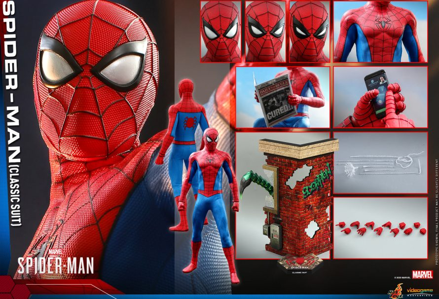 New Marvel's Spider-Man Hot Toys Figure Revealed