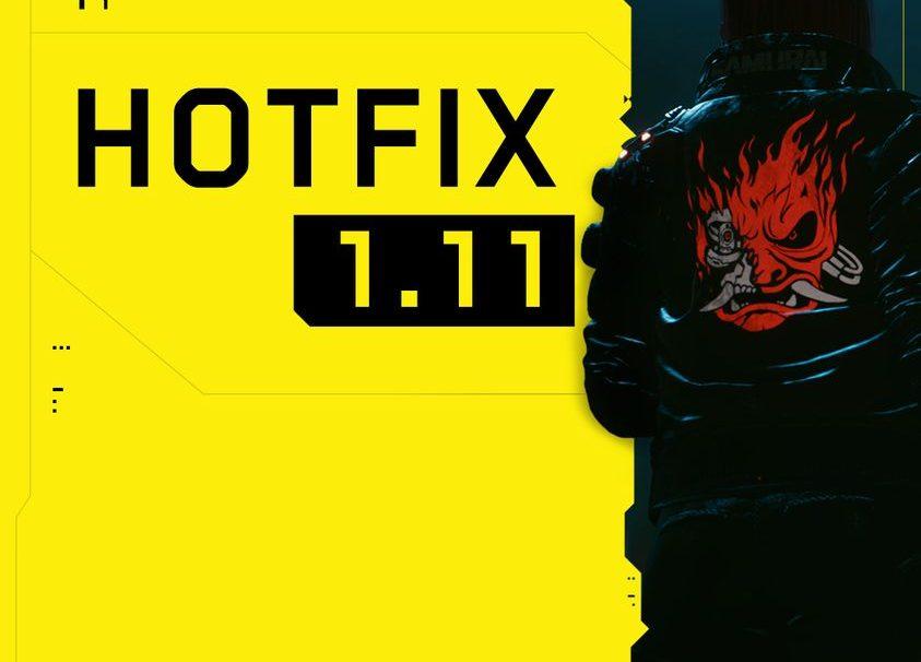 Cyberpunk 2077 hotfix 1.11 now live
