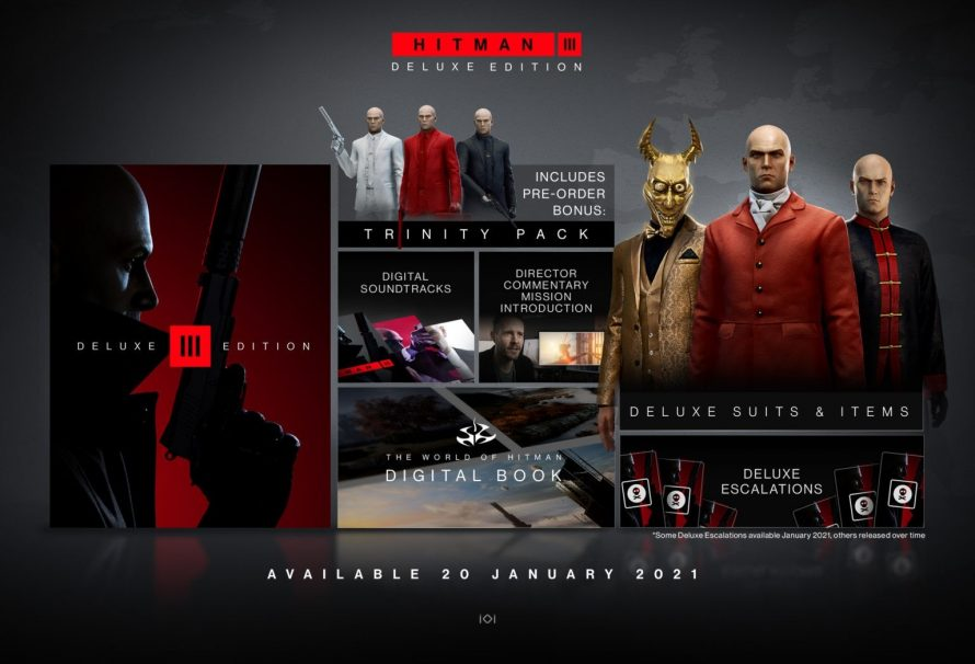 Hitman 3 Deluxe Edition unboxing trailer released