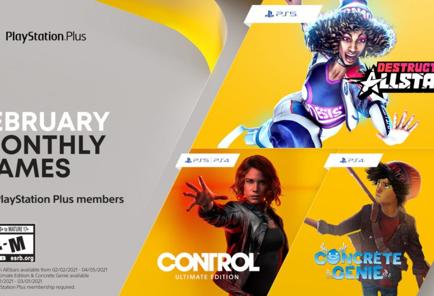 Free PlayStation Plus February 2021 Games Revealed