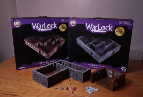 WarLock Tiles: Dungeon Tiles II + Town & Village II Review