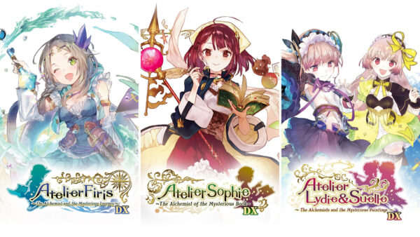 Atelier Mysterious Trilogy Deluxe Pack announced for Switch, PS4, and PC