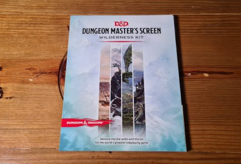 D&D: Dungeon Master's Screen Wilderness Kit Review