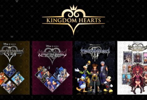 Kingdom Hearts series coming to PC next month