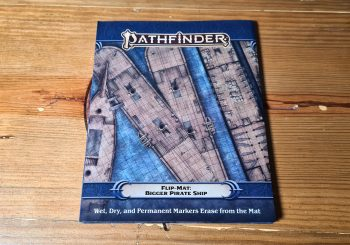 Pathfinder Bigger Pirate Ship Flip Mat Review