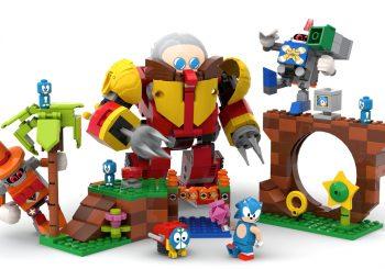 Official Sonic Mania Lego Set Announced