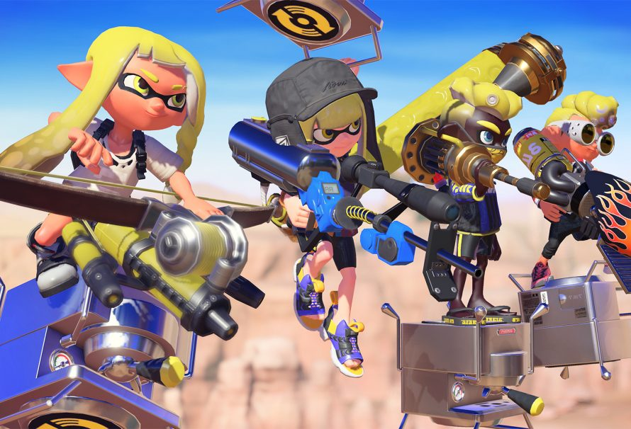 Splatoon 3 Announced for Switch