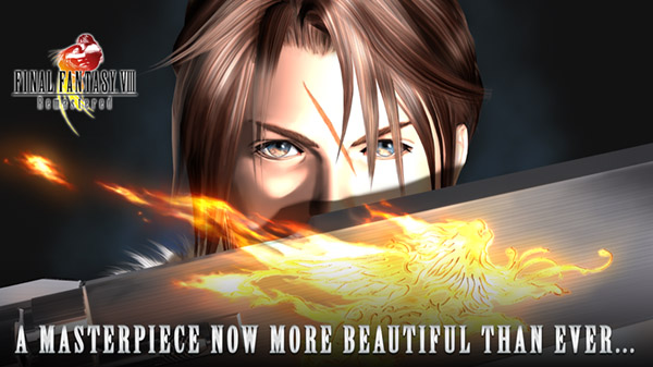 Final Fantasy VIII Remastered now available for Android and iOS