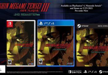Shin Megami Tensei III Nocturne HD Remaster gets a release date