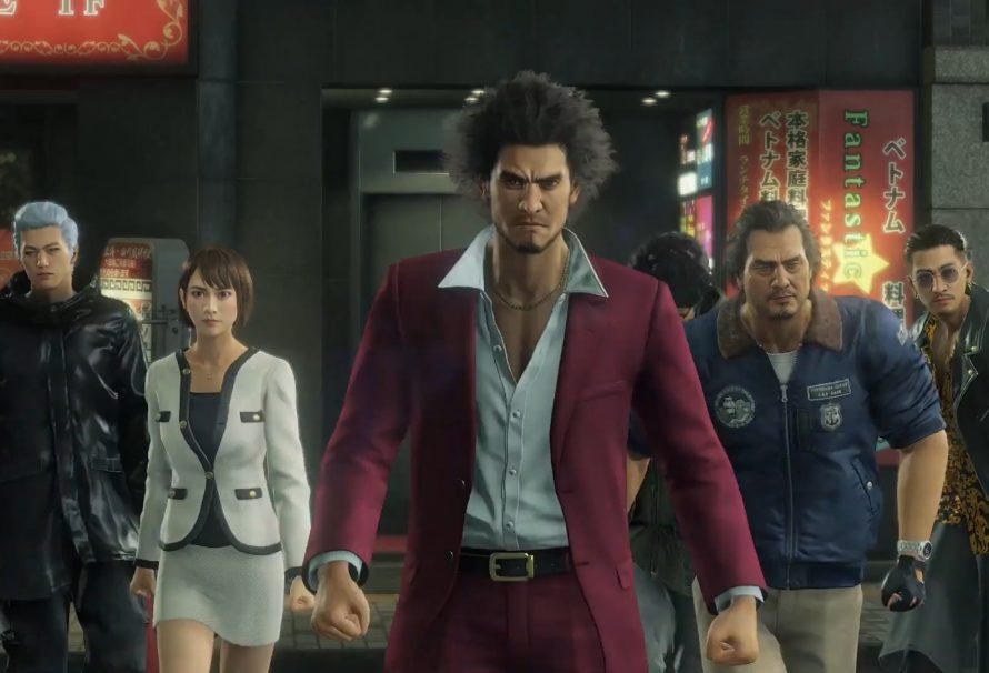 Yakuza: Like a Dragon PS5 launch trailer released