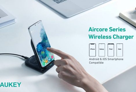 Aukey 2-in-1 Wireless Charging Stand (LC-A2) Review