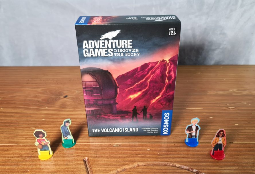 Adventure Games: The Volcanic Island Review
