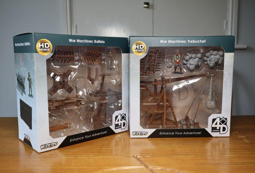 4D Settings War Machines Trebuchet and Ballista Review