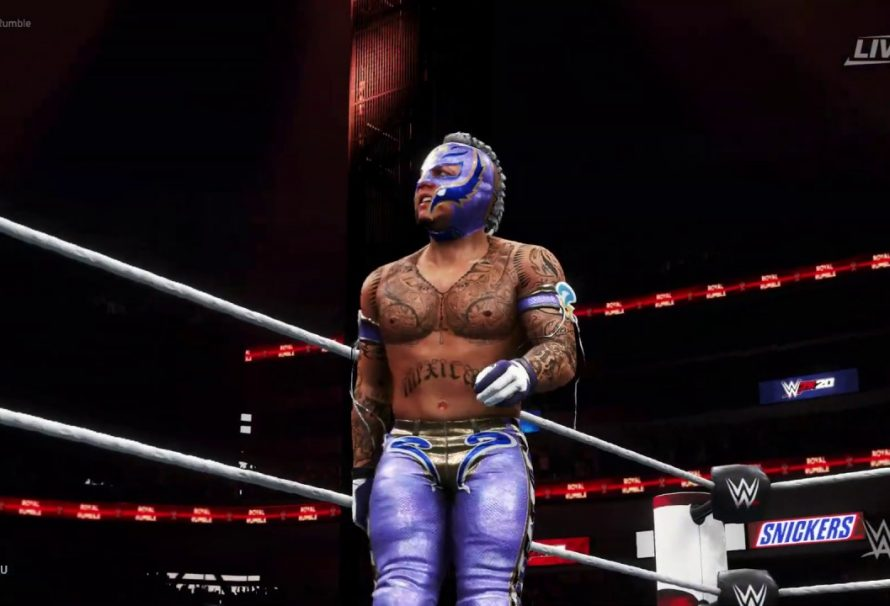 WWE 2K22 Trailer Features Rey Mysterio