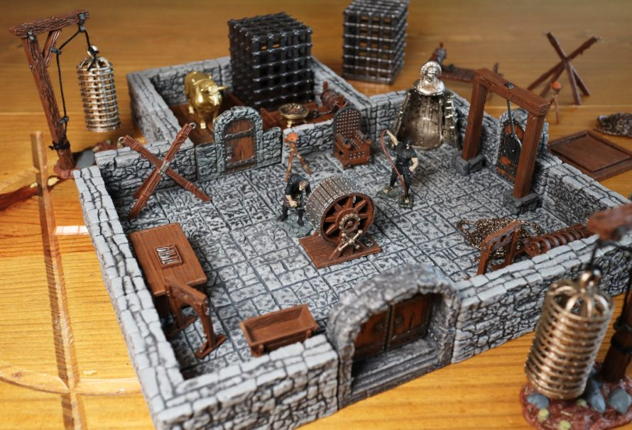 WarLock Tiles Accessory Review – Torture Chamber & Town Watch