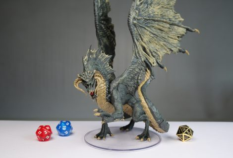 D&D Adult Red & Adult Black Dragon Review